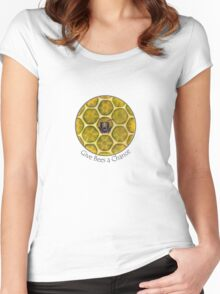 Give Bees a Chance Women's Fitted Scoop T-Shirt