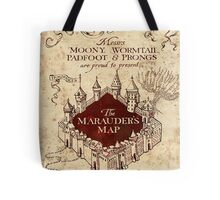 the marauders map full screen TB Tote Bag