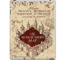 the marauders map full screen TB iPad Case/Skin