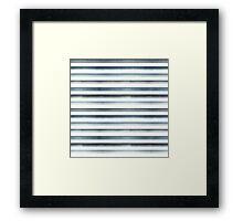 Striped pattern Framed Print