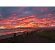 Sunset at Mavillette Photographic Print