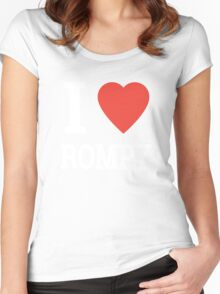 I LOVE ROMPY Women's Fitted Scoop T-Shirt