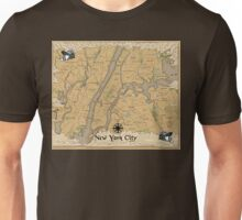 Map of New York - Tolkien Inspired Unisex T-Shirt
