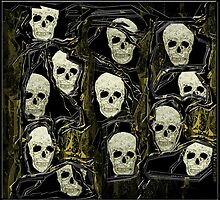 Skulls of Past by amanda metalcat