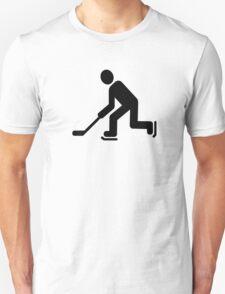 Hockey Player symbol T-Shirt