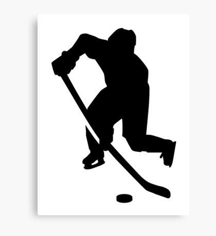 Hockey player Canvas Print
