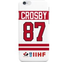 Sidney Crosby Team Canada iPhone Case/Skin