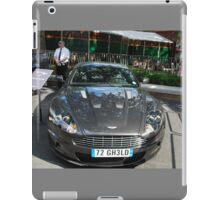 "2006 Aston Martin DBS - James Bond in ""Casino Royale"" iPad Case/Skin"