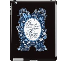 OUAT quotes. Once Upon A Time. iPad Case/Skin