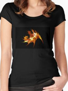 Autumn Leaf Women's Fitted Scoop T-Shirt