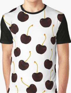 Sweet black cherry pattern Graphic T-Shirt