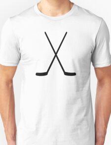Crossed hockey sticks T-Shirt