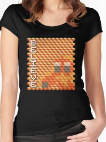 BELIEVE Women's Fitted Scoop T-Shirt