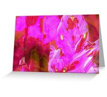 Halo - Pink Mist Greeting Card