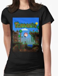 Terraria Womens Fitted T-Shirt