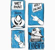 Wet Paint Detective Unisex T-Shirt