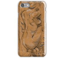 Kneeling Nude iPhone Case/Skin