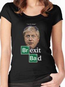 Boris - Brexit Bad Women's Fitted Scoop T-Shirt