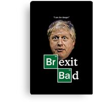 Boris - Brexit Bad Canvas Print