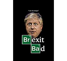 Boris - Brexit Bad Photographic Print