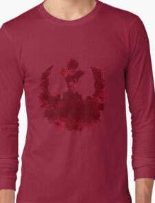 Rebel Alliance splatter  Long Sleeve T-Shirt