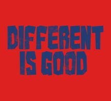 Different is good  One Piece - Long Sleeve