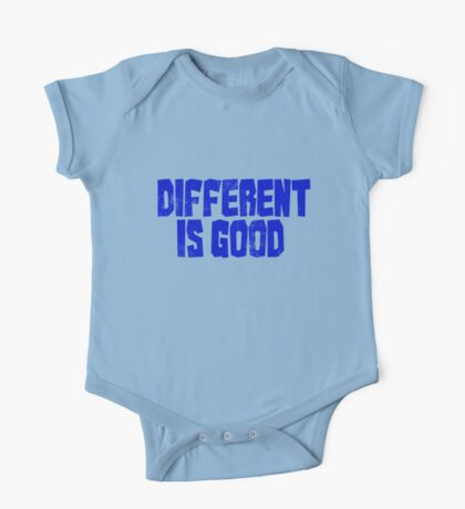 Different is good  One Piece - Short Sleeve