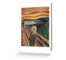 The Scream - Munch Greeting Card