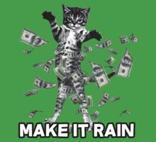 Make it rain money kitten cat dollar bills by bluestubble