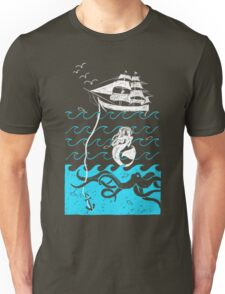 Nautical Waves Unisex T-Shirt