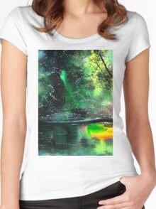 Brook Women's Fitted Scoop T-Shirt