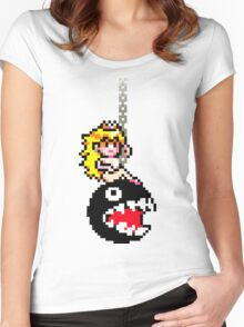 Chomping Ball Women's Fitted Scoop T-Shirt