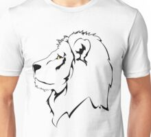 Lion Sketch drawing  Unisex T-Shirt