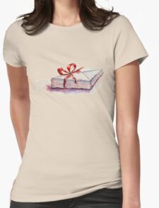 old letters... Womens Fitted T-Shirt