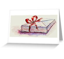 old letters... Greeting Card
