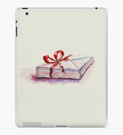 old letters... iPad Case/Skin