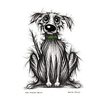 Mr Mucky paws Photographic Print
