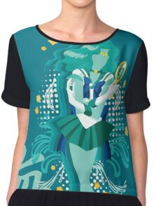 Soldier of the Sea & Embrace Chiffon Top
