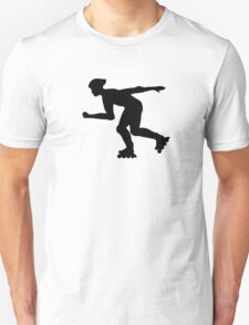 Inline skating Unisex T-Shirt