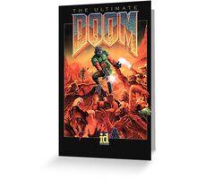 Doom Greeting Card