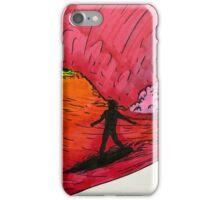 Surfing on Mars iPhone Case/Skin