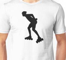 Inline skating skater Unisex T-Shirt