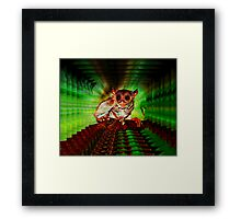 WIRED FOR SOUND Framed Print
