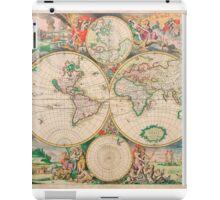 Mercator map iPad Case/Skin