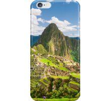 Machu Pichu, Peru iPhone Case/Skin