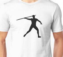 Javelin thrower Unisex T-Shirt