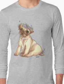 Pug is love Long Sleeve T-Shirt