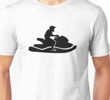 Jetski racing Unisex T-Shirt