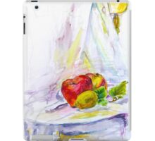 still life with apple iPad Case/Skin