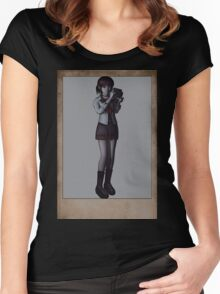 fatal frame Women's Fitted Scoop T-Shirt